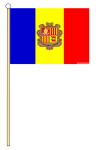 HAND WAVING FLAG - ANDORRA